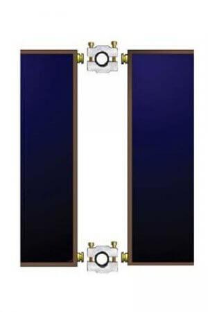 Savienojuma komplekts saules kolektoriem TS300 TS310 TS330